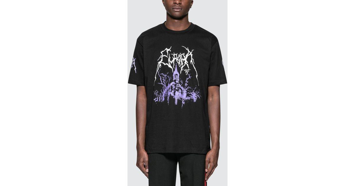 2019 authentique personnalisé codes promo Wasted Paris Black Oversized Europa T-shirt for men