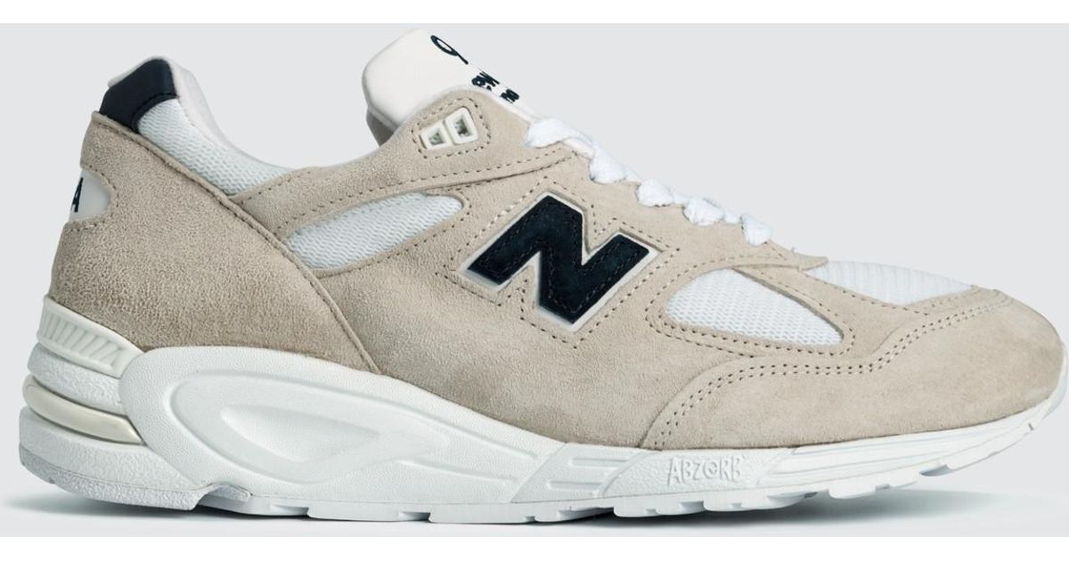 brand new 93c0a 9340d New Balance Made In Usa 990 V2 in White for Men - Lyst
