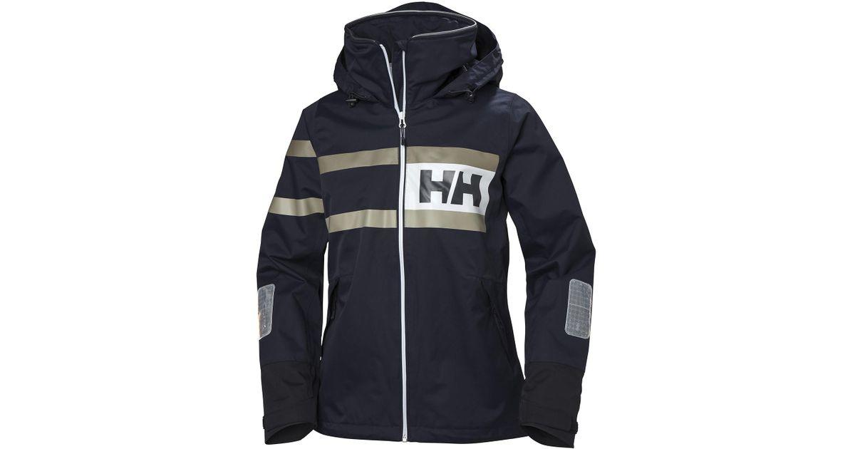 25e215b5 Lyst - Helly Hansen W Salt Power Jacket in Blue