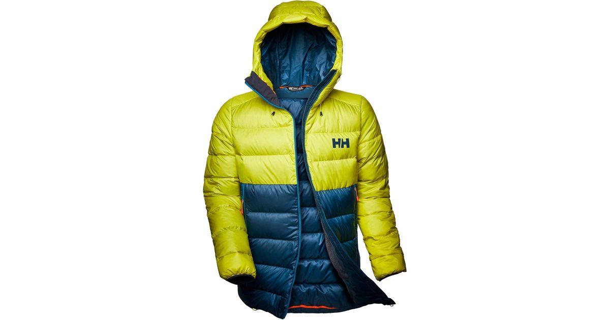 Helly Hansen Vanir Glacier Down Hiking Jacket Yellow for men