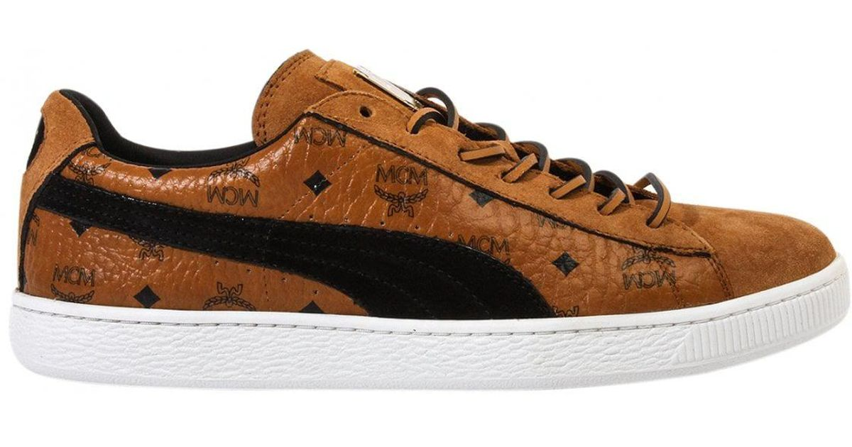 new product a50d4 cd3dc PUMA Brown Suede Classic Mcm for men