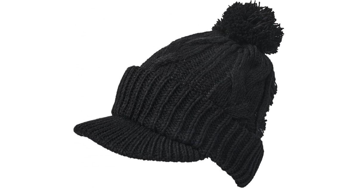 Yohji Yamamoto Women s Bobble Hat Cap Black in Black - Lyst 5bb5f6ab9db