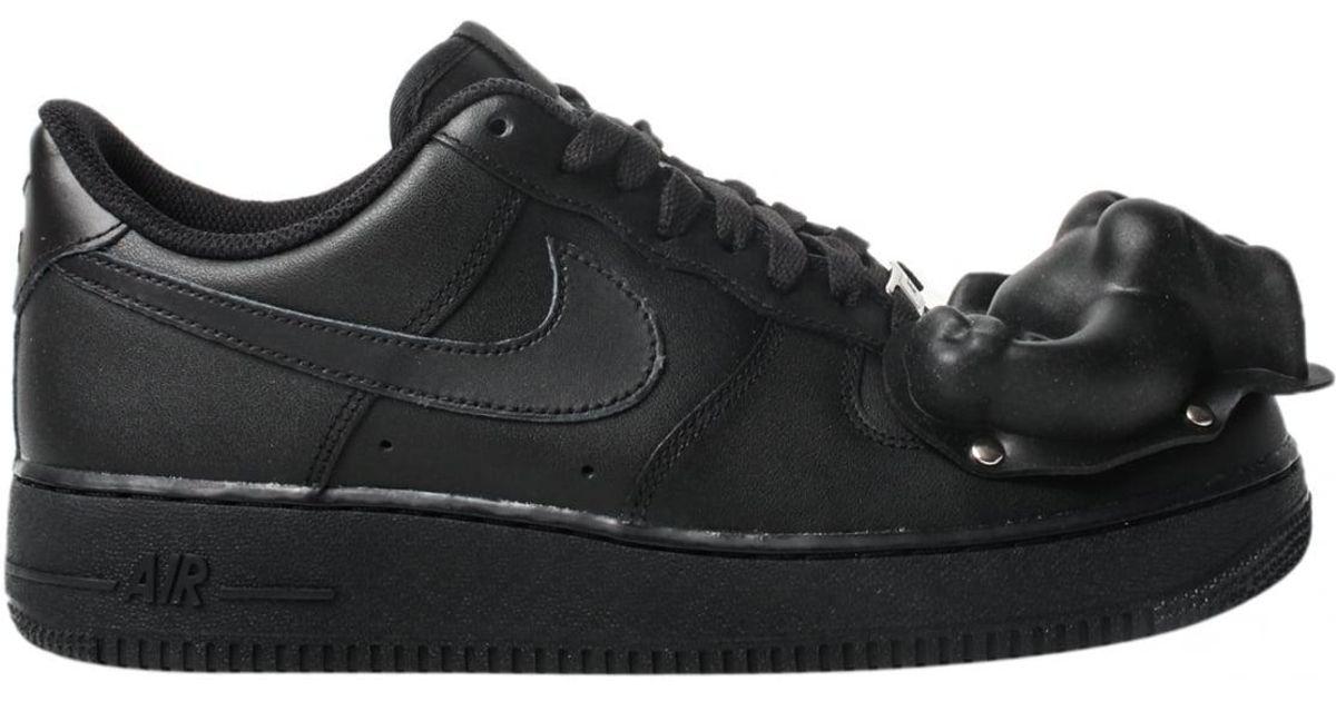 de199f3d6113c6 Jordans Comme des garçons Nike Moulded Dinosaur Air Force 1 Sneakers in  Black ...