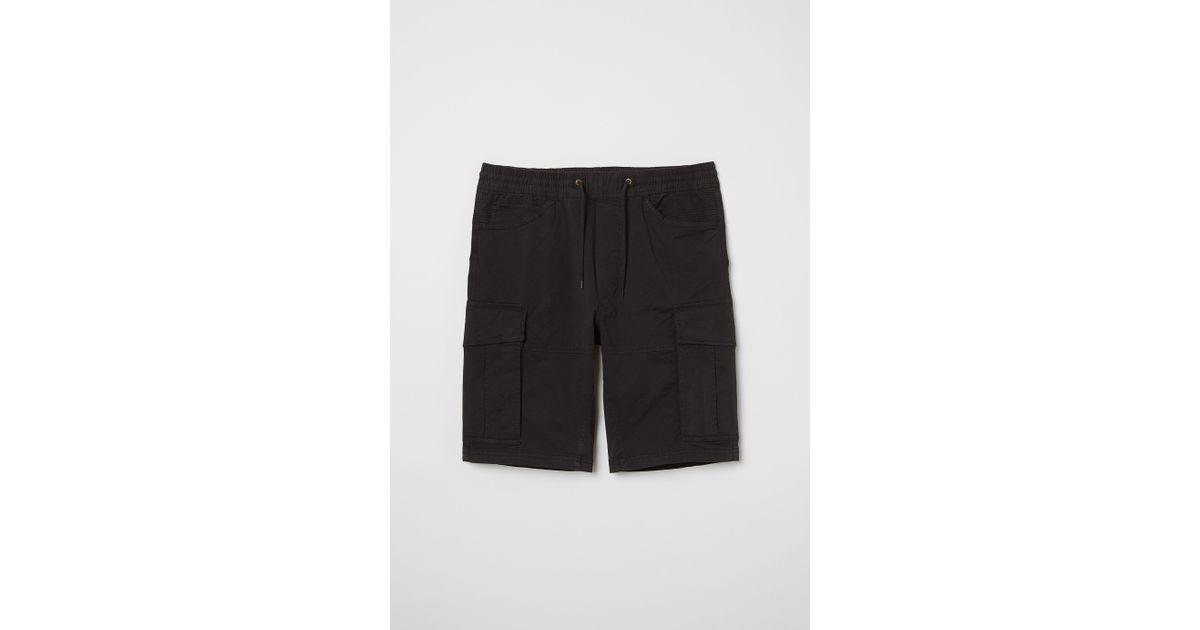 719e3571dd Lyst - H&M Cargo Shorts in Black for Men