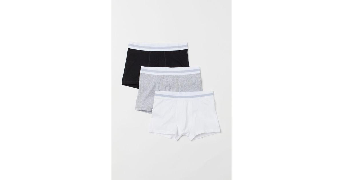 Reebok Herren 3er Pack Boxershorts Boxer Unterhosen Unterwäsche Flatlocknähte
