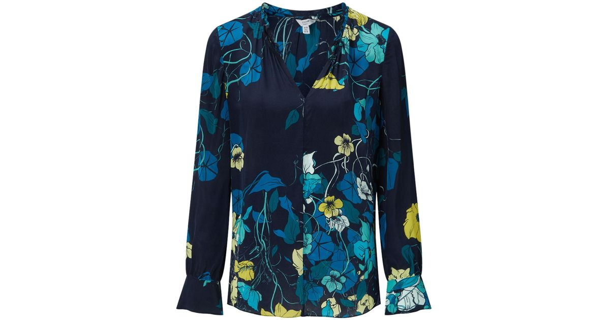 Botanical Trail Blouse Jigsaw Cheap Sale Amazon All Seasons Available Free Shipping Get Authentic Buy Online Cheap HrhWw