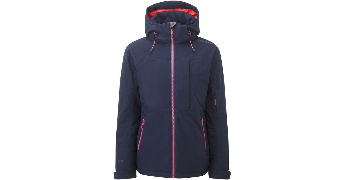 Tog 24 Eden Womens Milatex Ski Jacket In Blue Lyst