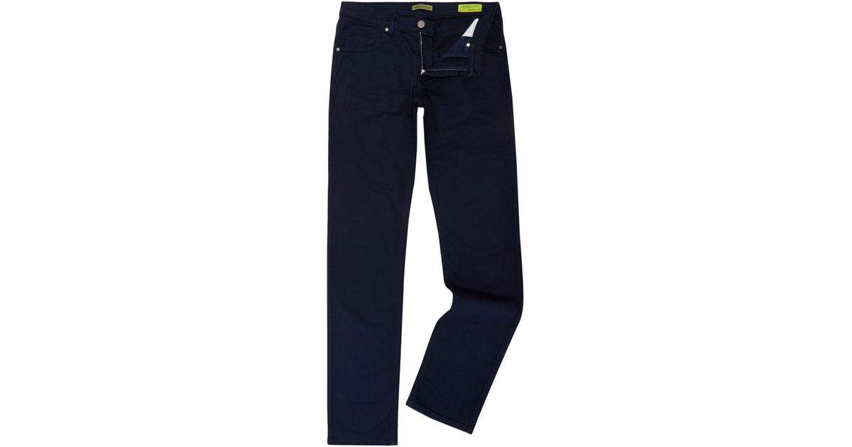 2b925aa7db2 Versace Jeans Rinse Wash Regular Fit Jean in Blue for Men - Lyst