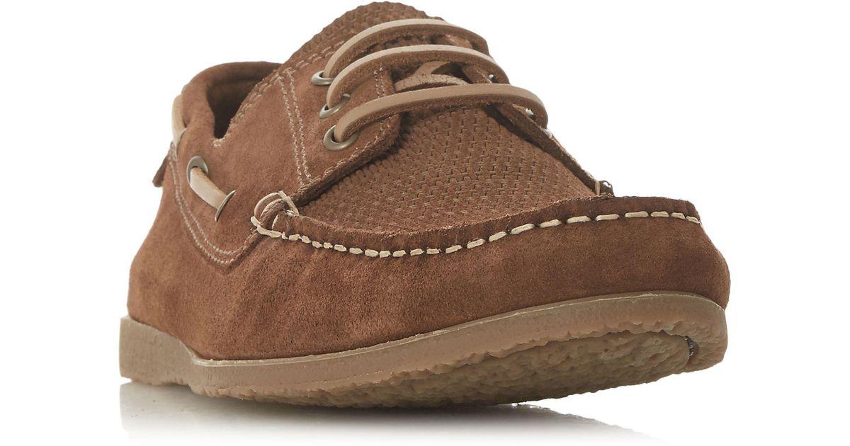 Tan 'Battalion' classic boat shoes cheap original iuEXu