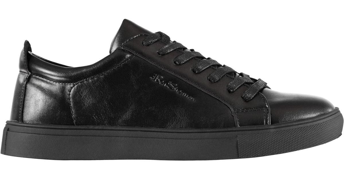 Ben Sherman Lace Trick Trainers in