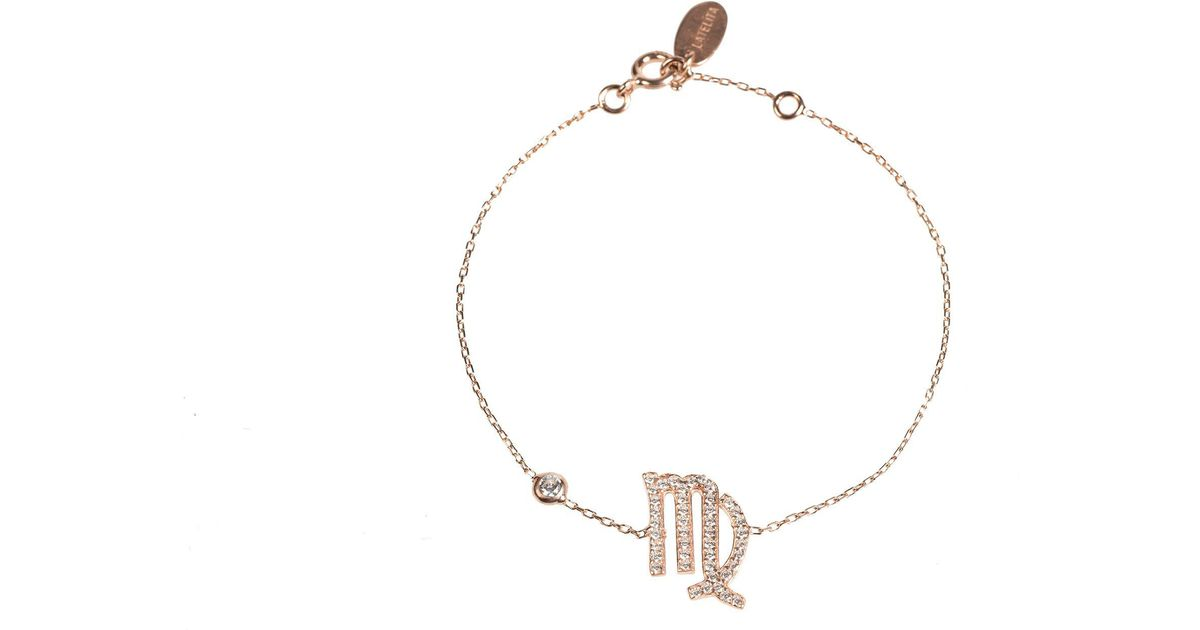 Latelita London Virgo Zodiac Bracelet Rose Gold yf1cmCWso