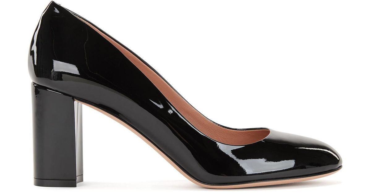 Authentic Online Stack-heel pumps in Italian patent leather BOSS Buy Cheap Prices For Sale Finishline Explore Sale Online ySjNs5S