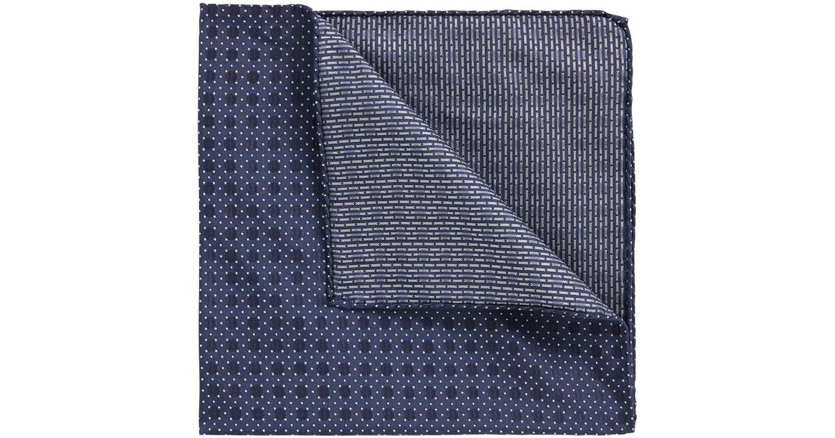 Italian-made patterned pocket square in silk jacquard BOSS Discount Largest Supplier Hyper Online Sale Best Buy Cheap Price U49kgNDcQ