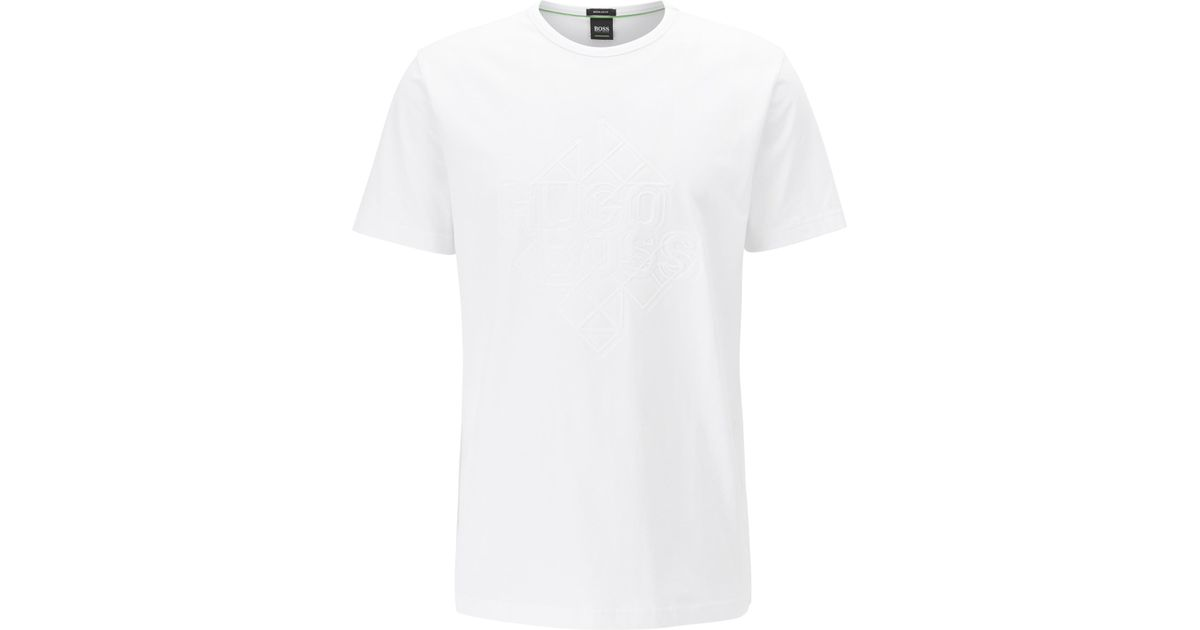 f06dc0ed496 Lyst - Boss Stretch Cotton T-shirt