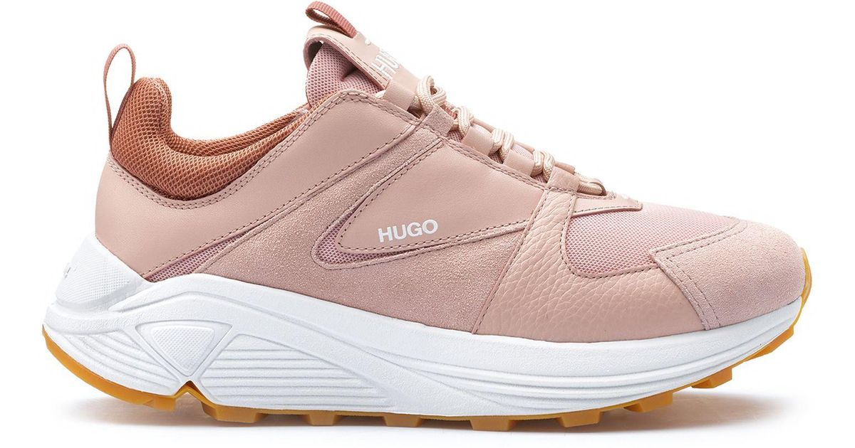 10d610f9037 HUGO Chunky Running-style Trainers In Mesh