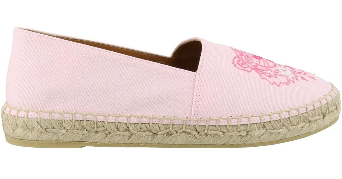 light pink espadrilles