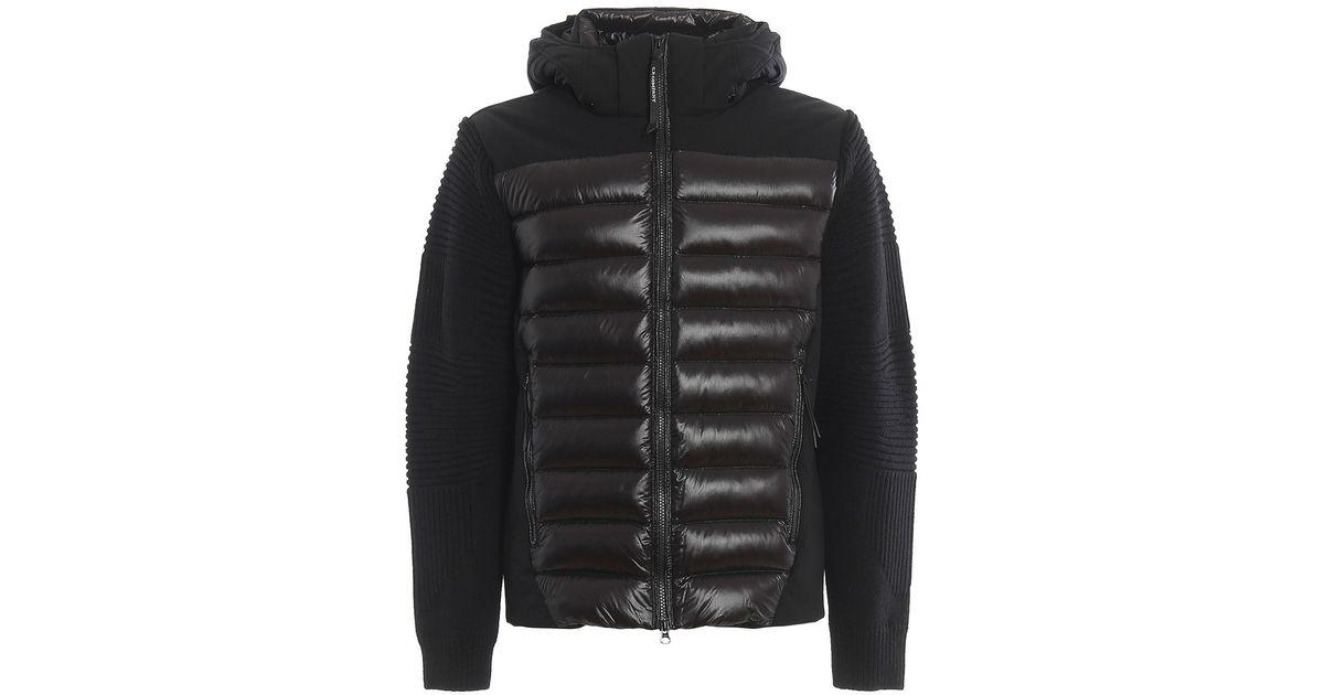 Daniel Smart Mens Sporty Black Cruiser Jacket Removable Hood