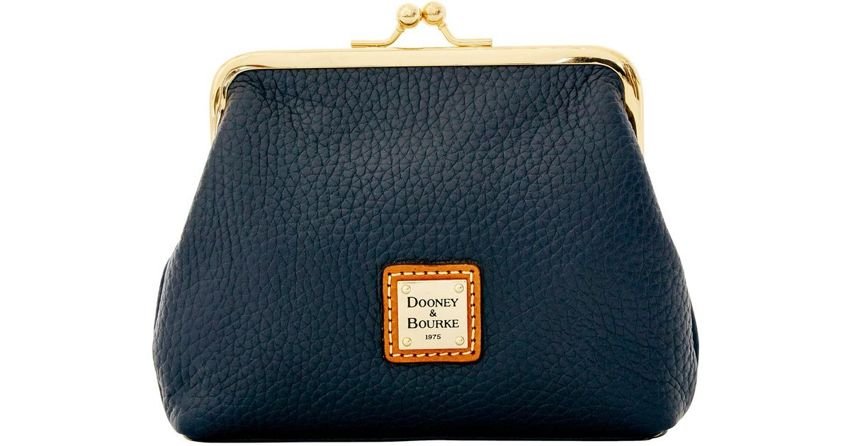 Dooney /& Bourke Pebble Grain Large Framed Purse