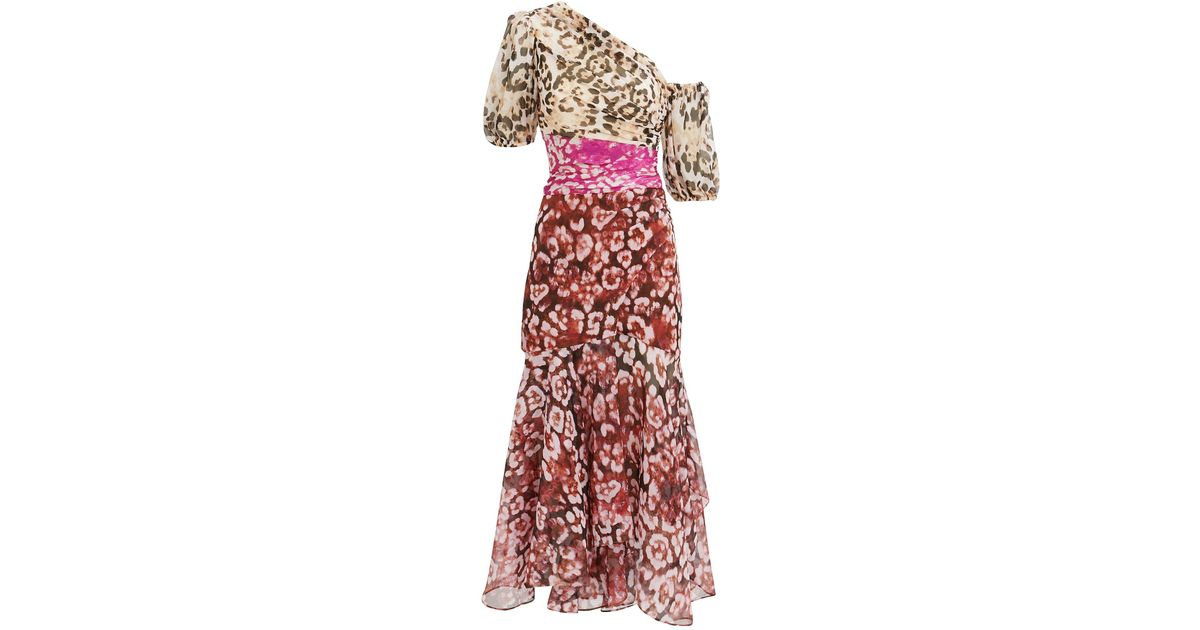 lower price with cheaper cheap price AMUR Multicolor Jaylah Mixed Animal Print Dress