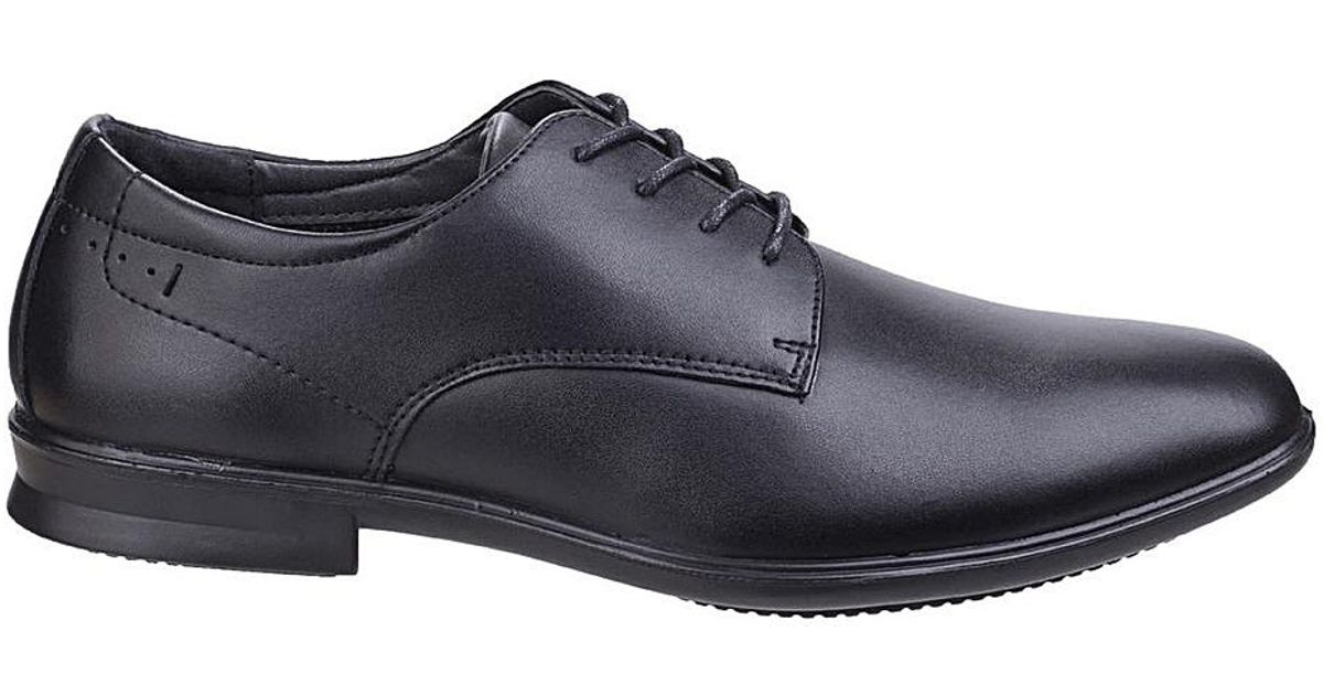 4f3153a6f7b6f Diesel Hush Puppies Cale Oxford Plain Toe Shoe in Black for Men - Lyst