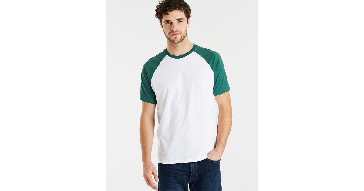 Outlet Supply Colour Block T-Shirt With Pocket - Navy / white Jacamo Clearance Amazing Price 3wltjexm