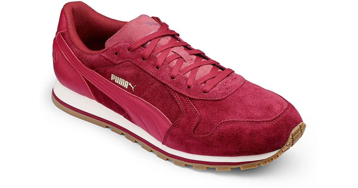 Suede For In Trainers Runner Men Lyst Puma Red St 4wYqEExp