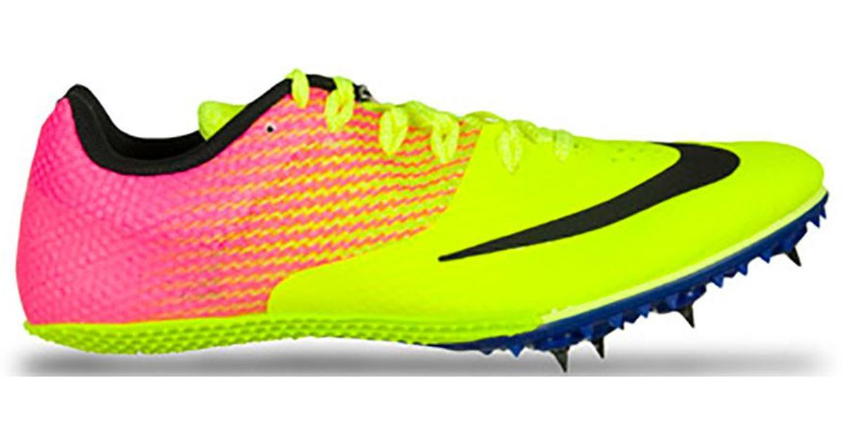 best value on wholesale nice shoes On Yellow Men's Nike Zoom Rival S 8 Oc Track Spike - Unlimited Collecti for  men