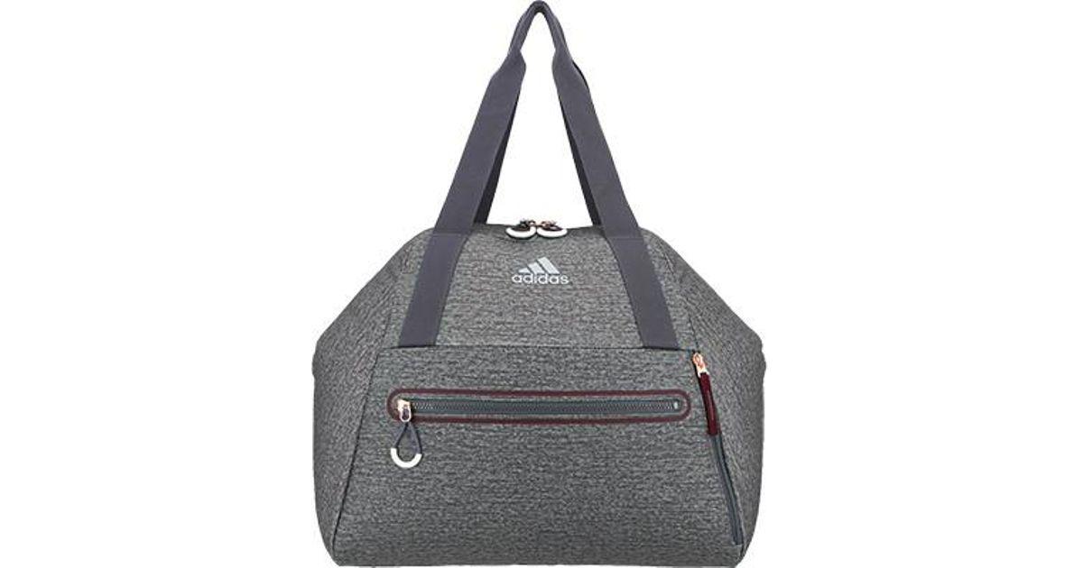 Lyst - adidas Studio Hybrid Tote Bag in Gray 185c372260c1e