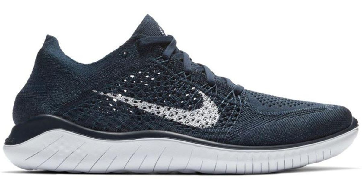 6d7a21009615 ... promo code for lyst nike free rn flyknit 2018 in blue for men 4d0aa  92c06