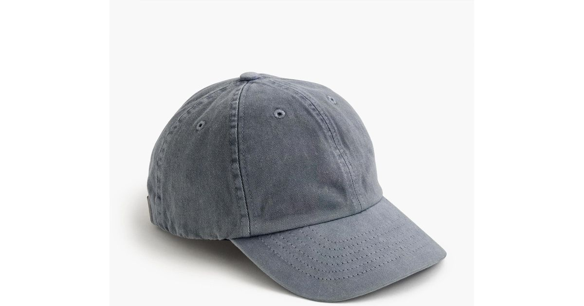 8f1ee50d7d4ea J.Crew Always Baseball Cap In Garment-dyed Cotton in Gray for Men - Save  18% - Lyst