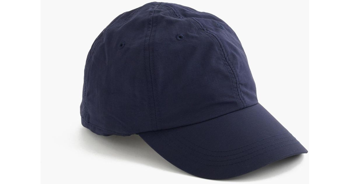 fc87cf3cca J.Crew Blue Sun-safe Baseball Cap for men
