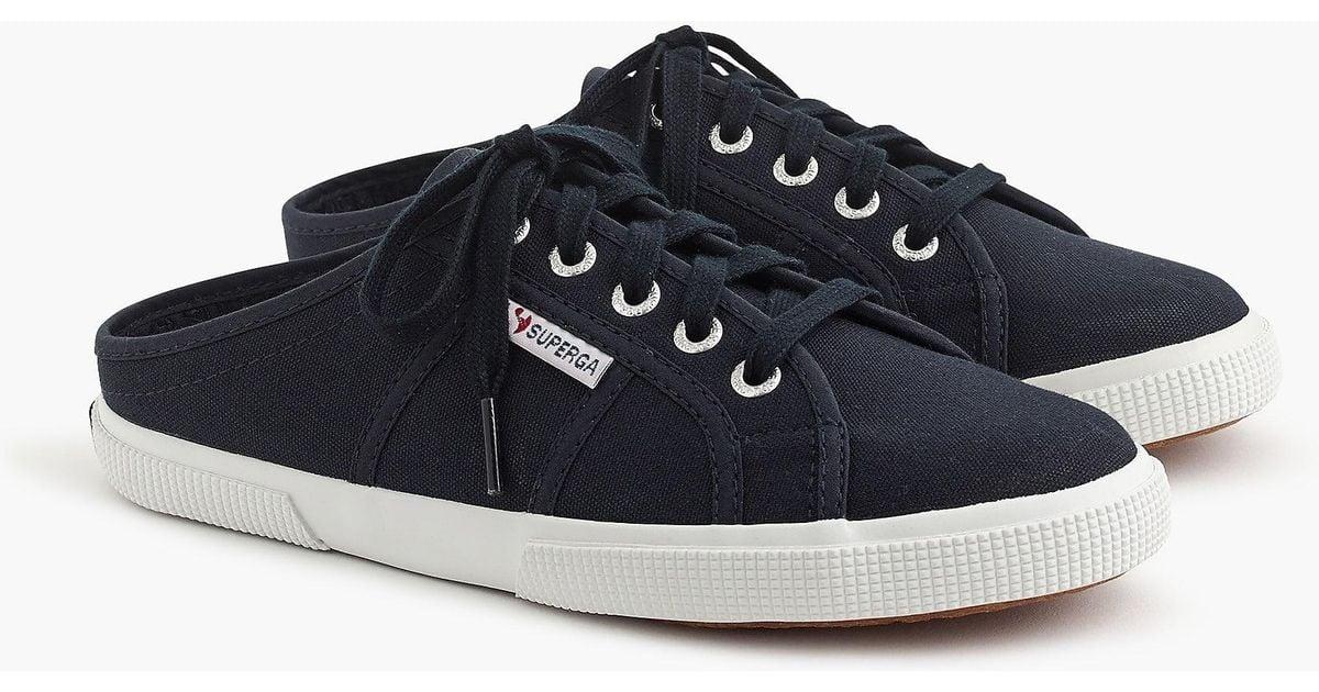 0cad76fd2674a Lyst - Superga 2288 Mule Sneakers in Blue