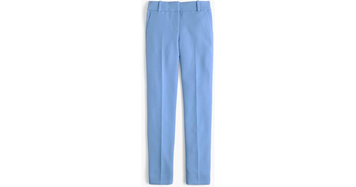 bcc3592c1f9 Lyst - J.Crew Petite Cameron Slim Crop Pant In Four-season Stretch in Blue