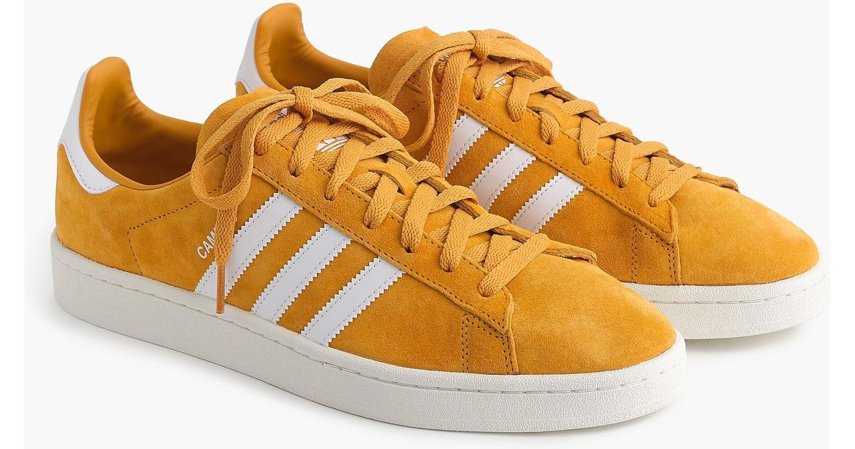 info pour eabe2 0d0ad Adidas Yellow Suede Campus 80 Sneakers for men