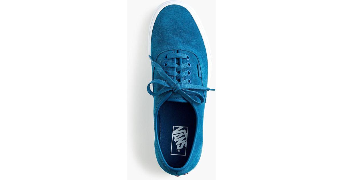 Vans Soft Suede Authentic Sneakers in