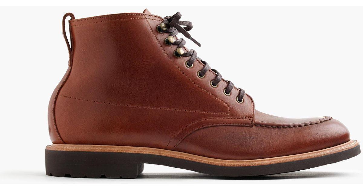 f04cc6a70af J.Crew Multicolor Kenton Leather Pacer Boots for men