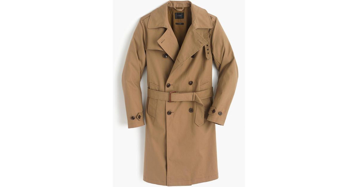 6a1c11e76 J.Crew Blue Ludlow Double-breasted Water-repellent Trench Coat for men