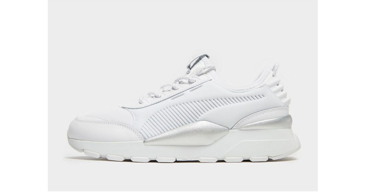PUMA White Rs-0 Trophy for men