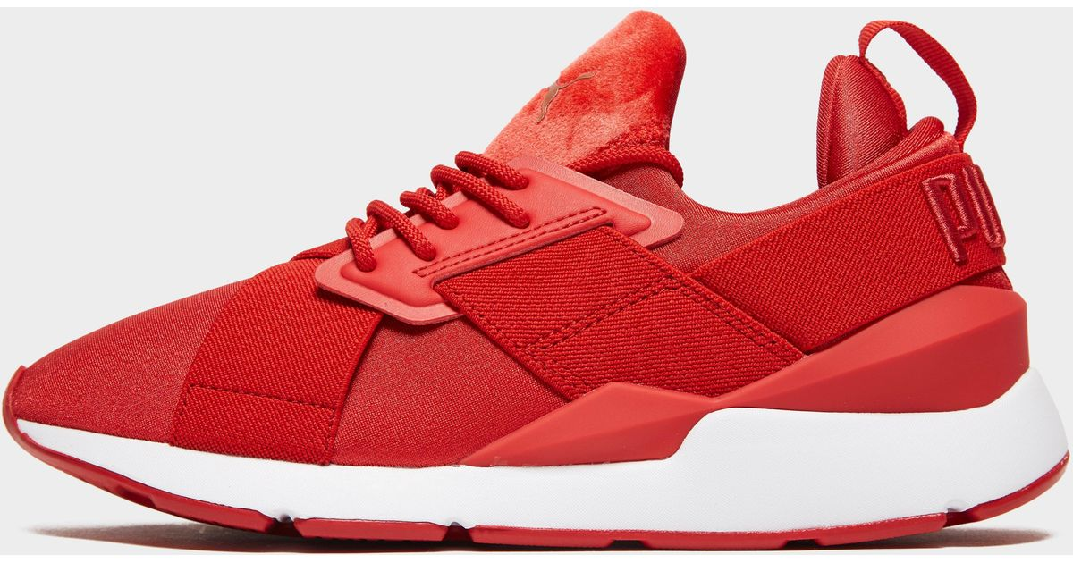 PUMA Red Muse Satin Ii