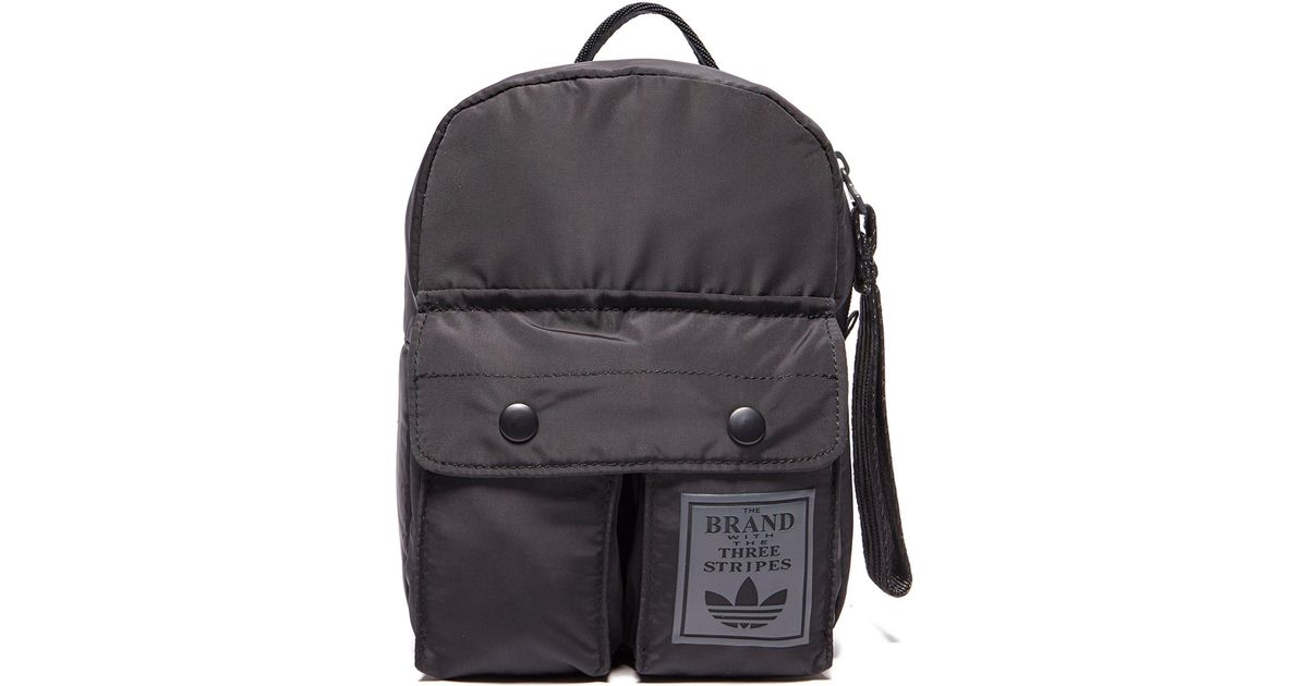 18d937bf33 Lyst - adidas Originals Mini Classic Backpack in Black