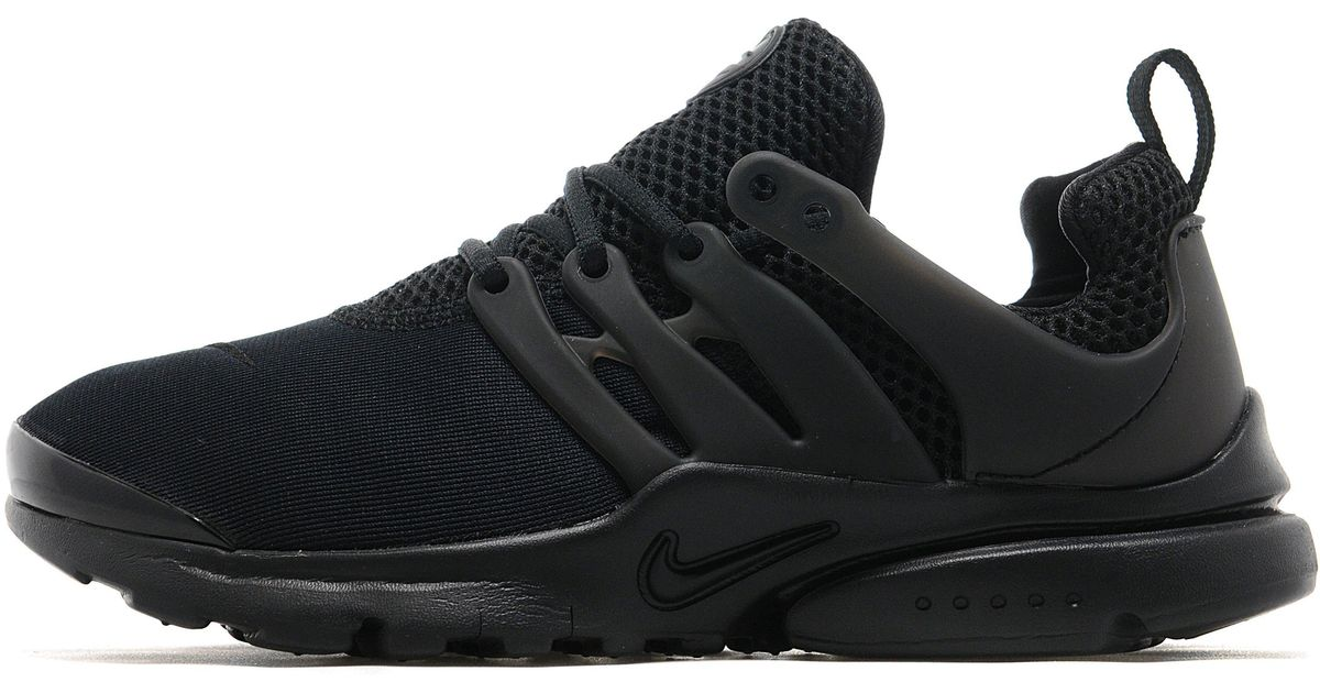 ... amazon lyst nike air presto children in black for men 6f295 902f4 02e62b40e