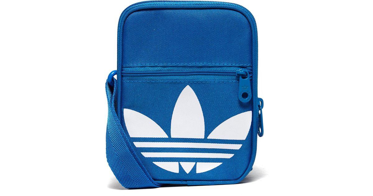 2e45d400026f Adidas Originals Festival Bag in Blue for Men - Lyst