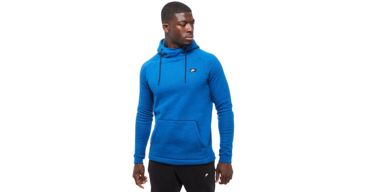 a4c4295c0 Lyst - Nike Modern Overhead Hoody in Blue for Men