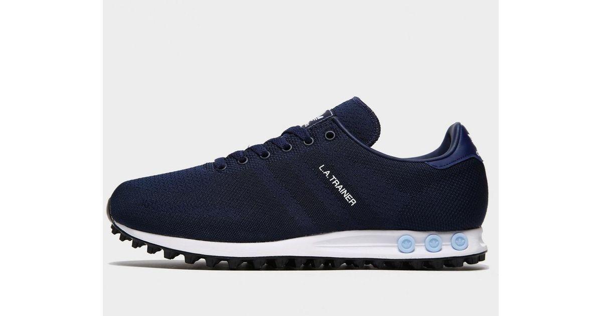 Adidas Originals Blue La Trainer Woven for men