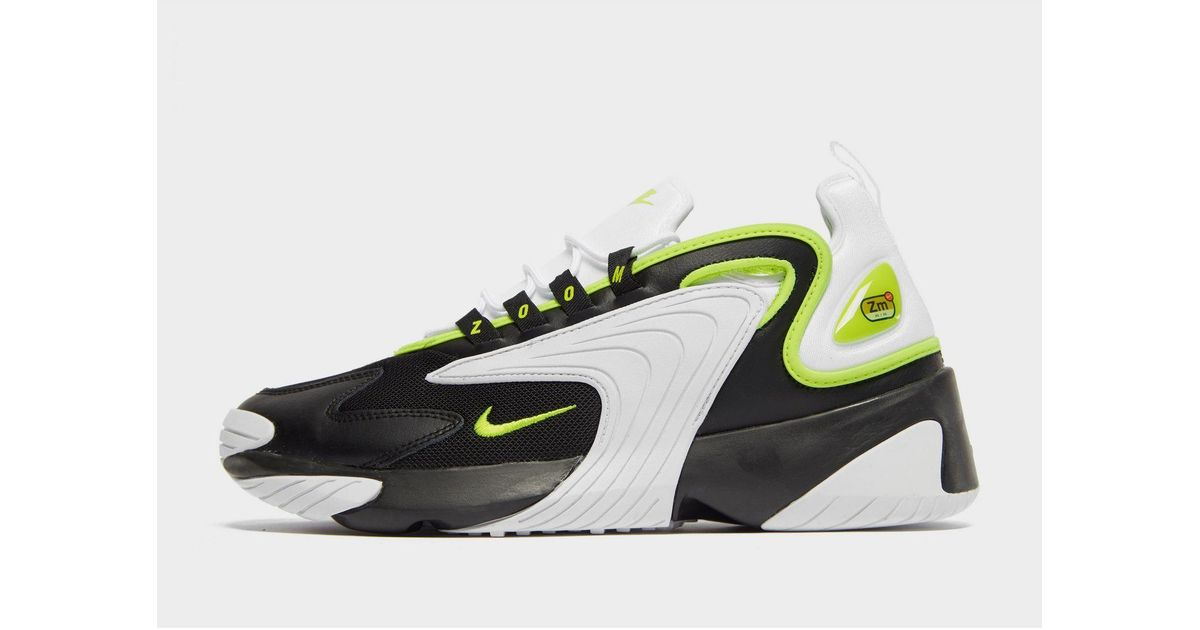 Nike Synthetic Zoom 2k in Black/Green