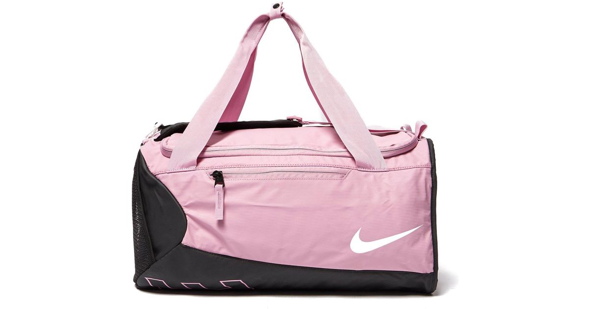 70d8827a7a1c Nike Alpha Duffle Bag in Pink Lyst ...