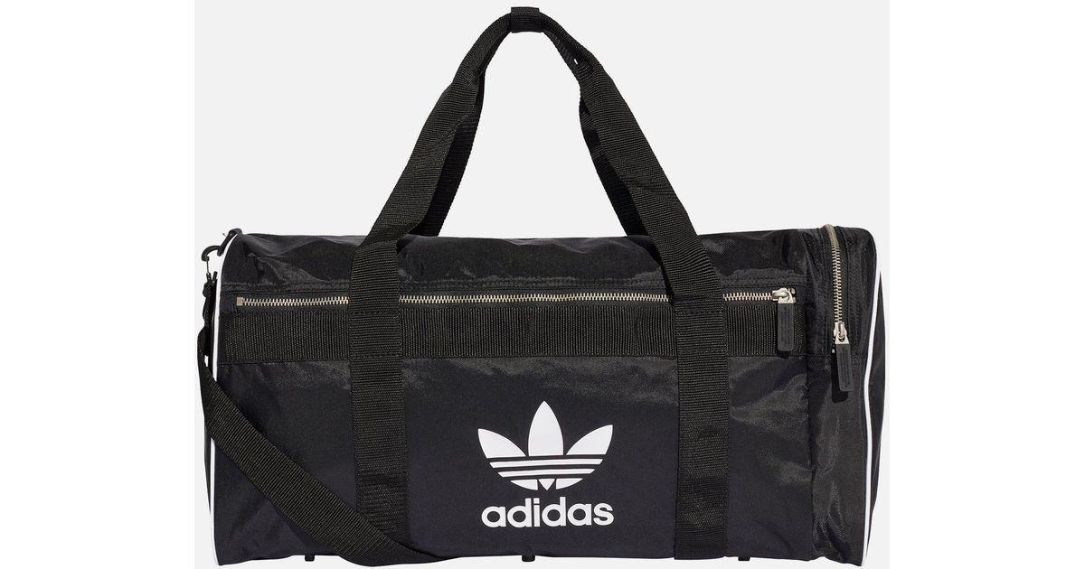 d13696ef7ce9 Adidas Duffel Bag Large in Black for Men - Lyst