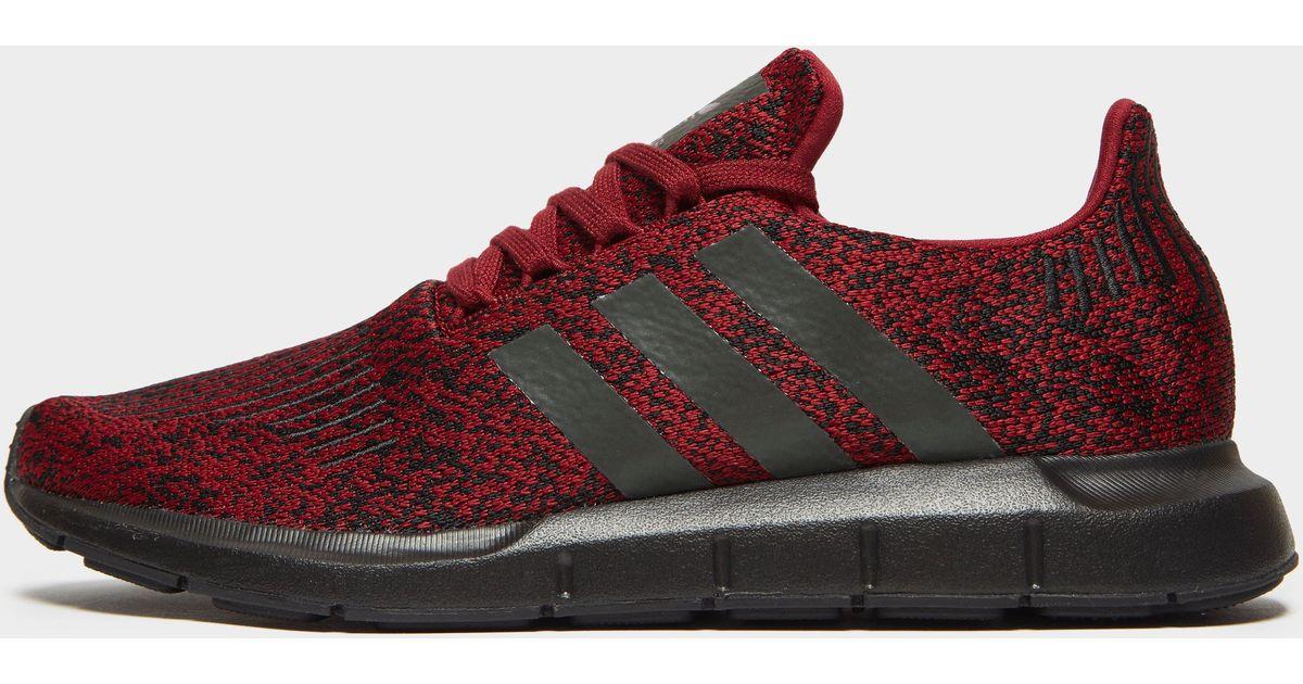adidas swift run red and black 632213