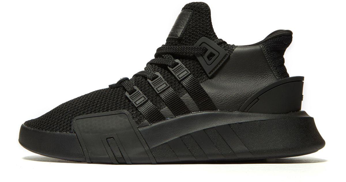 buy online 54486 bcc9b Adidas Originals Black Eqt Bask Adv for men