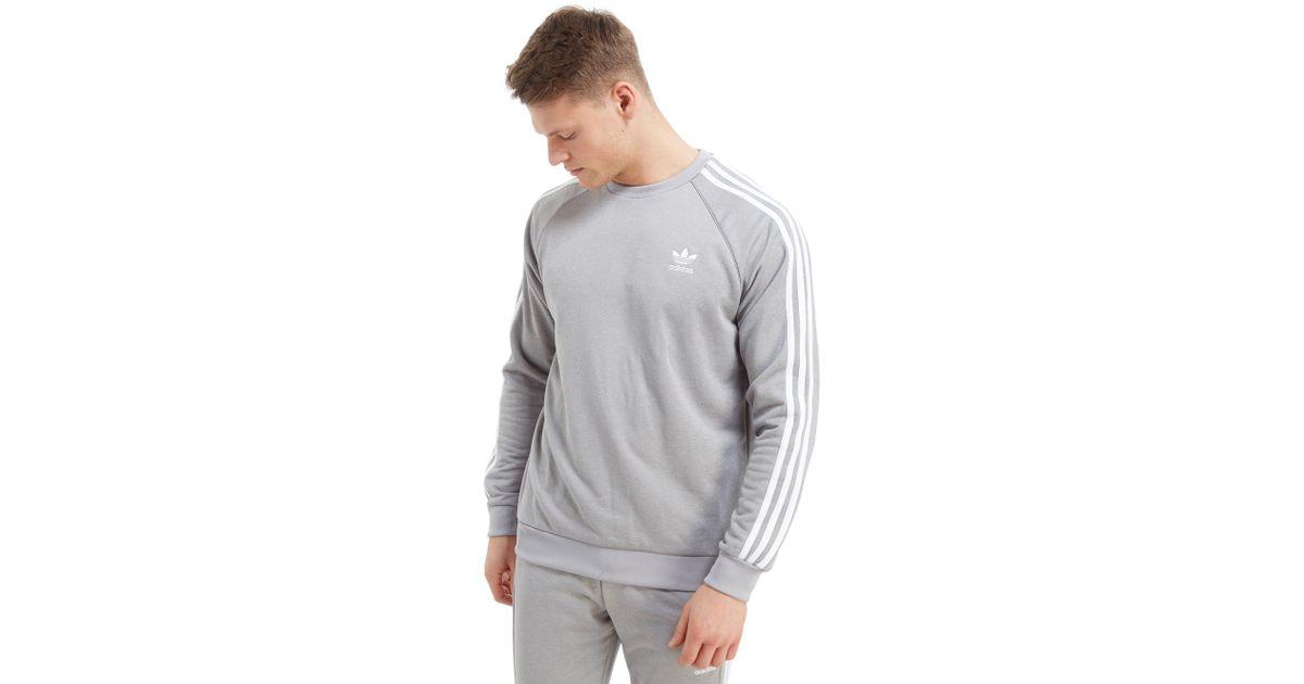53c7cfb0f8ba Lyst - adidas Originals Superstar Crew Sweatshirt in Gray for Men